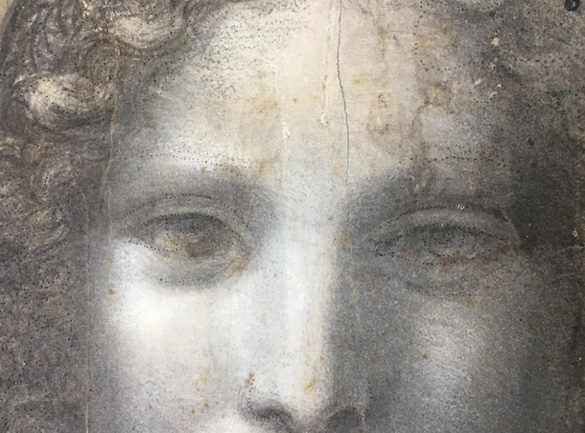 Fig. 2 Leonardo nude detail
