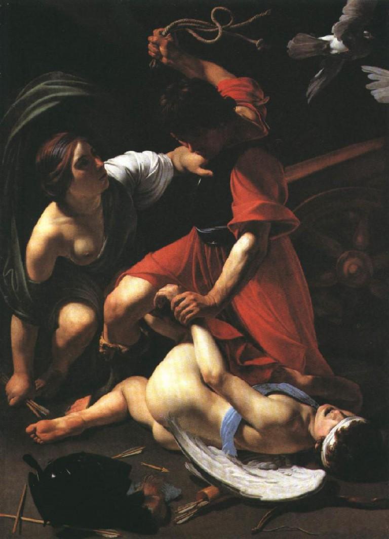 pic 1 Manfredi Mars chastising Cupid