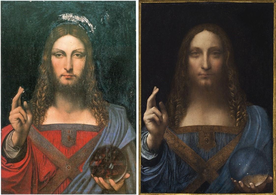 Salvator Mundi Ganay >> Problems With The New York Leonardo Salvator Mundi Part I